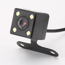 4 Luzes LED Câmera de Visão Traseira Do Carro HD Auto Retrovisor Câmera de Visão Noturna Veículo Carro Câmera de Estacionamento de Backup Câmera