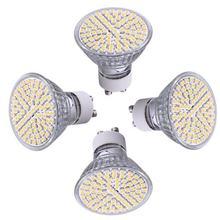 Ampoules Globe Blanc Chaud 3528 K AC LED V 5W 3600, 4 pièces, GU10, 230 SMD 80 LED s