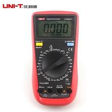 UNI-T UT890C + Цифровой ЖК-Мультиметр True RMS AC/DC Частота Палм Размер ЖК-Подсветкой Автомобильная + Датчик Температуры