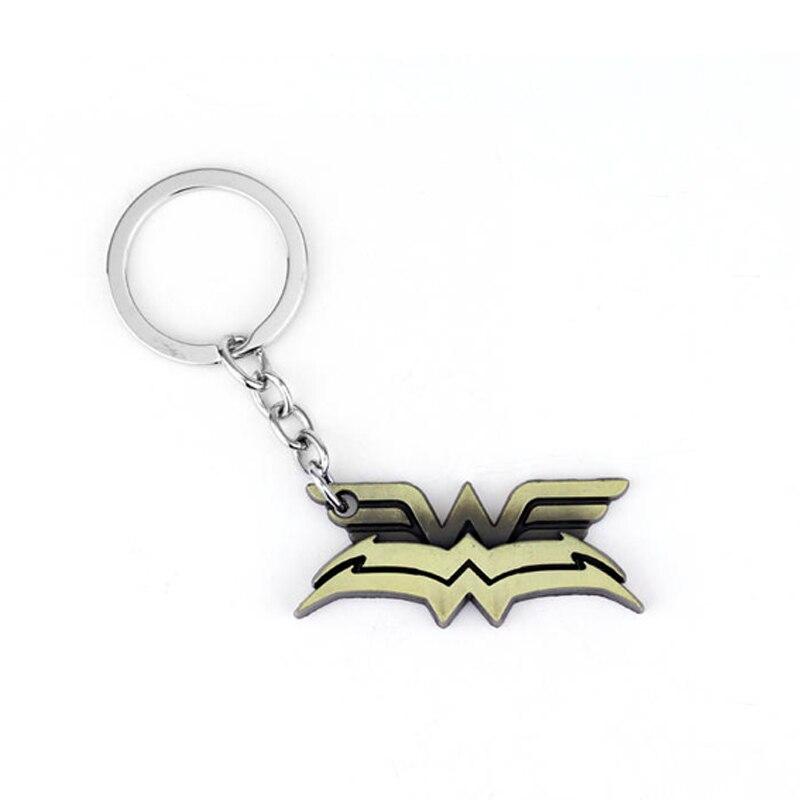 HOT SELL Wonder Woman DC Super Hero Keychain