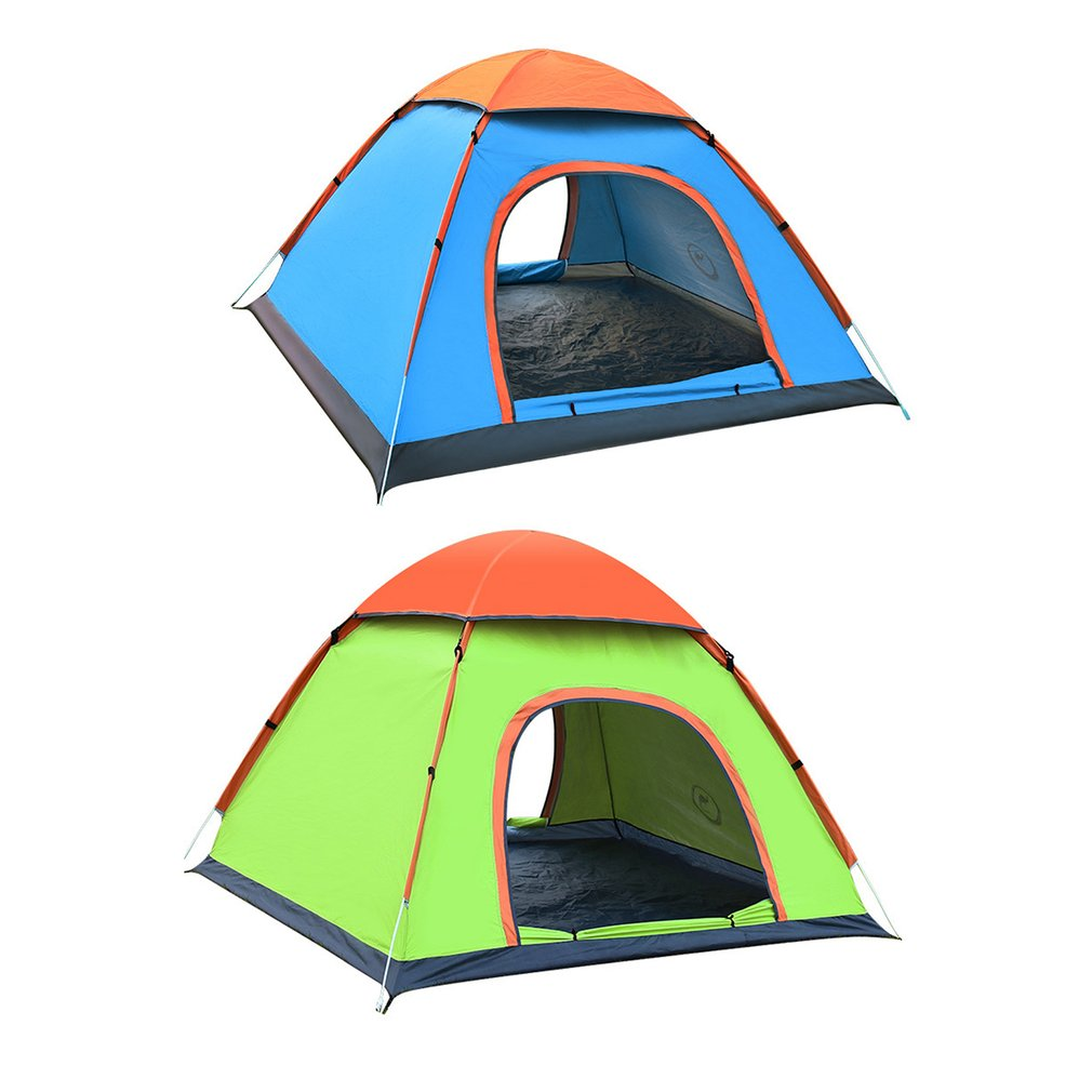 все цены на New Arrival 2 Persons Fully Automatic Tent Portable Rainproof Tent Double Layer Outdoor oxford cloth Camping Hiking Fishing Tent