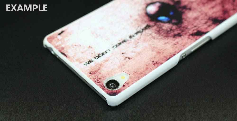 Депеш белый чехол для телефона для sony Xperia Z1 Z2 Z3 Z4 Z5 M4 Aqua C4 чехол XA; XZ E4 E5 L36H