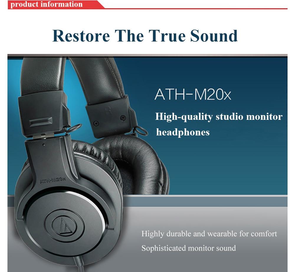 Audio-Technica ATH-M20x 4