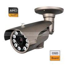 CCTV AHD 1.3MP 960P 2.8-12mm Varifocal Lens Camera IR-Cut OSD 10 Array IR