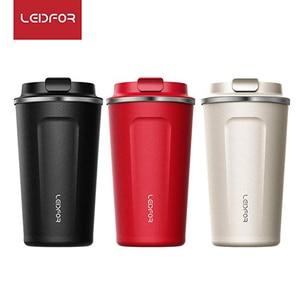 Image 3 - Tazas de café con tapa termo de acero inoxidable, botella de agua térmica aislada, taza de cerveza, termo de café, 2018