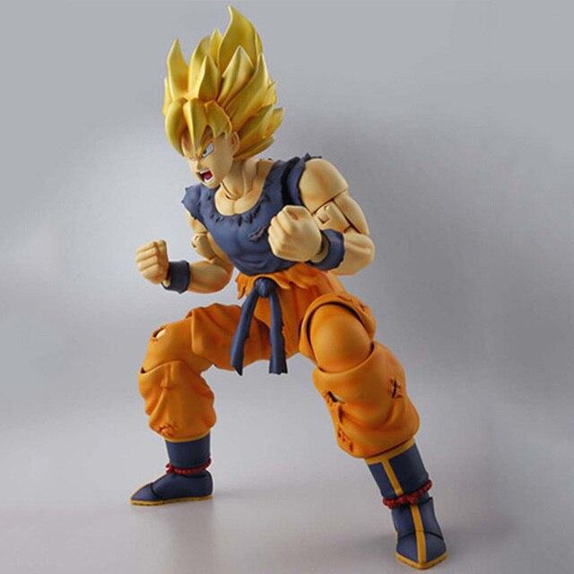 Dragon Ball Z MG Figure Rise Super Saiyan Son Goku Model Kit (1/8) Japan Anime Collectible Mascot Toys 100% Original