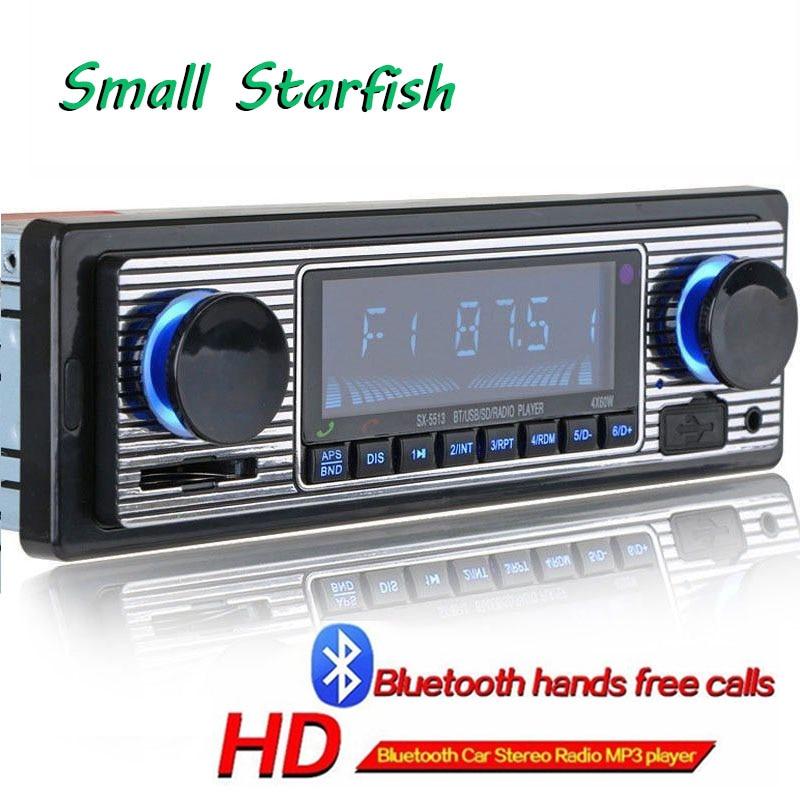 Автомобильный USB FM Ретро Радио классический авто радио плеер Bluetooth стерео автомобиль avtagnitola ретро автомобиль радио bluetooth MP3 плеер
