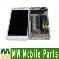 Black White  Color 1PC/ Lot High quality For ZTE Blade A570 LCD Display + Touch Screen Assembly Digitizer with frame