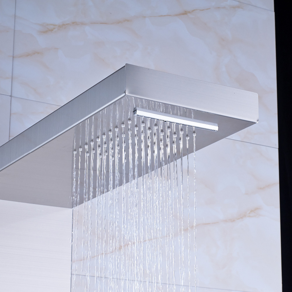 Perfect Shower Jets Elaboration - Bathtub Design Ideas - klotsnet.com