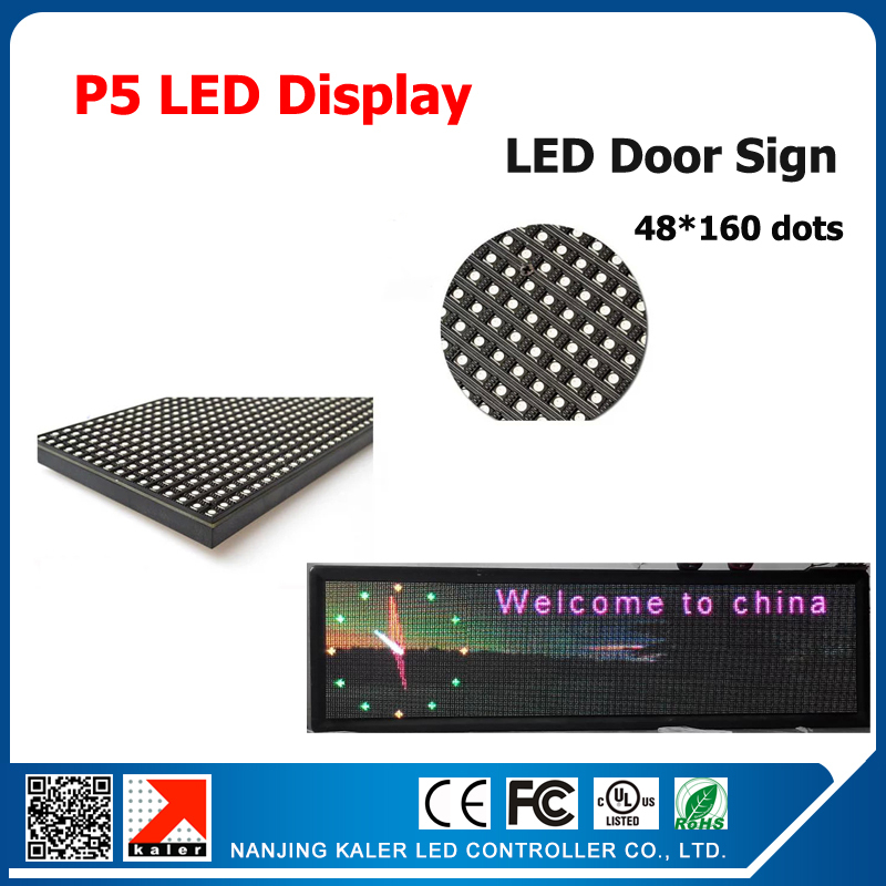 TEEHO 53*165 Cm LED Display Semi-outdoor Indoor Full Color LED Video Wall, LED Signs P5 LED Modules With Video Card