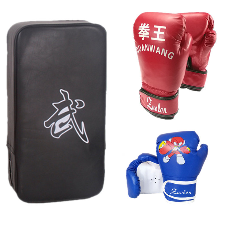Boxing Pads Kick Boxing Strike Muay MMA Boxing Taekwondo Foot Target GIFT