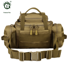 Famous Brand Outdoor Military Molle Tactical Pouch Bag For Sports Hiking Walking Waist & Messenger & Shoulder Bag Sporttas