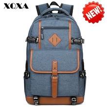 XQXA Style Oxford Backpack Men Dayback Backpack School Bag for Teenagers Boys Laptop Mochila Masculina Escolar Quality Bagpack