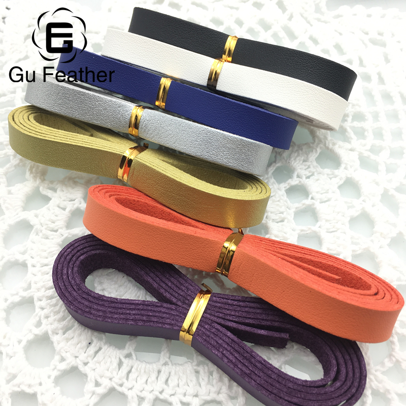 GUFEATHER P76/10MM leather cord/jewelry accessories/accessories parts/jewelry findings & components/cabochon/jewelry making
