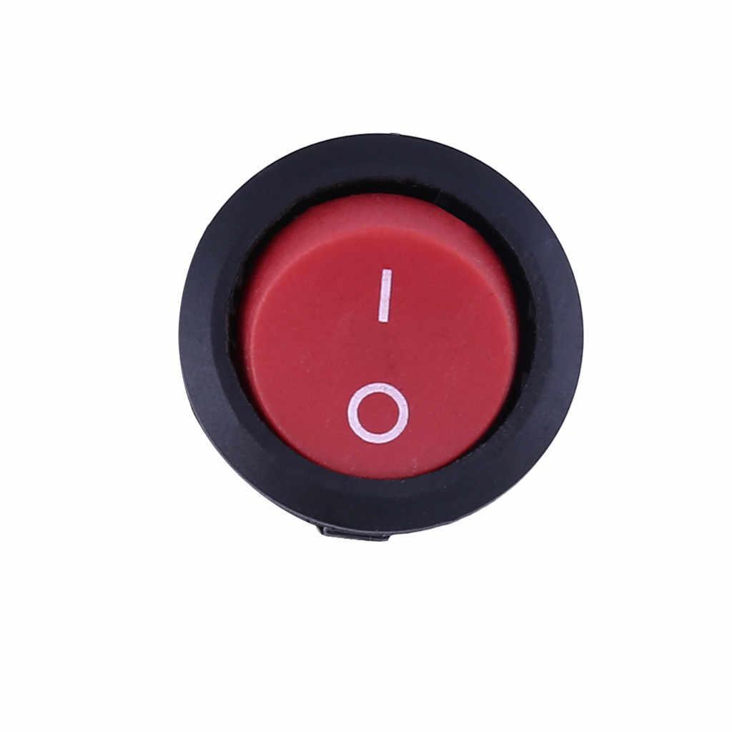 1 шт. 2 контактный переключатель вкл/выкл паяльный терминал лодка Кулисный кнопочный переключатель 6А/250 в 10А/125 В аксессуары для салона автомобиля Прямая доставка #30