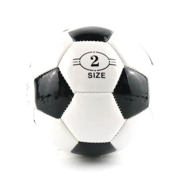 Classic Black White Standard Soccer Ball Size 2