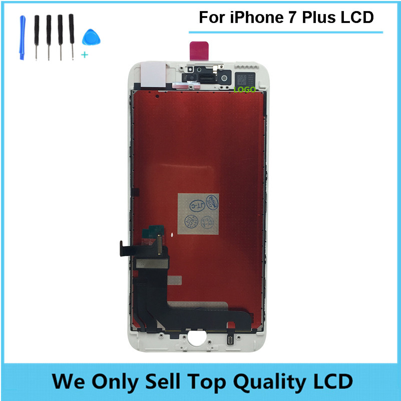 OEM Quality LCD Complete Display Screen For iPhone 7 7Plus with Touch Glass Digitizer Assembly 100% Test free shipping + tools