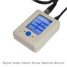 Цифровой Счетчик Гейгера излучения детекторы ядерных излучений детектор частиц с мини-usb кабель + кабель BNC + GM трубки