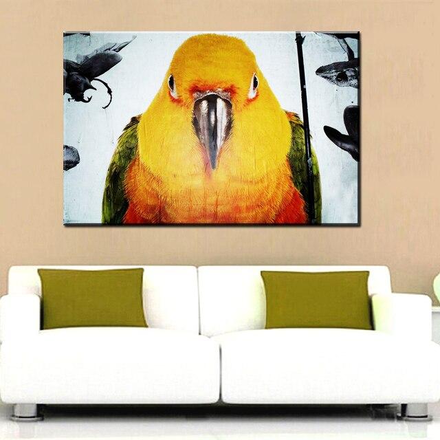 xdr124Graffiti Art Canvas Painting Banksy Australia Street Birds Art ...