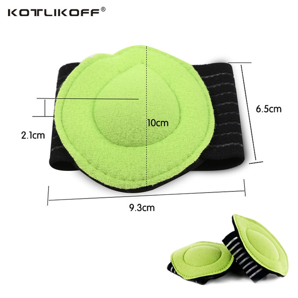 KOTLIKOFF Orthopedic insole Arch Support Cushion Pads,Flat Foot Orthopedic Insoles Foot Care Shoe Inserts Cushion Insoles Pad italy oak cork orthopedic insoles flat foot arch support anti slip breathable deodorant foot massage orthopedic shoe accessoires
