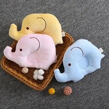 Подушка для новорожденных, плоская голова, позиционер для сна, поддерживающая Подушка, предотвращающая появление слона, постельные принадлежности, детская подушка, украшение для комнаты