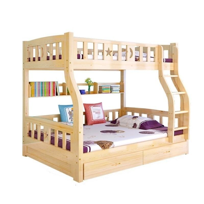 цена на Infantil Box Meuble Maison Quarto Mobili Kids Frame Meble Deck Home Furniture Cama Moderna Mueble De Dormitorio Double Bunk Bed