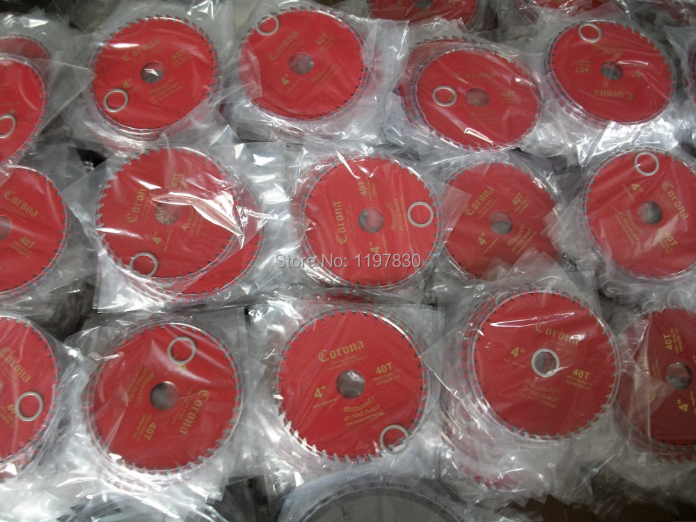 On sale of 100PCS hot sale110*20*1.8*30Z wood cutting saw blades cutting disc decoration quality grade DIY home using