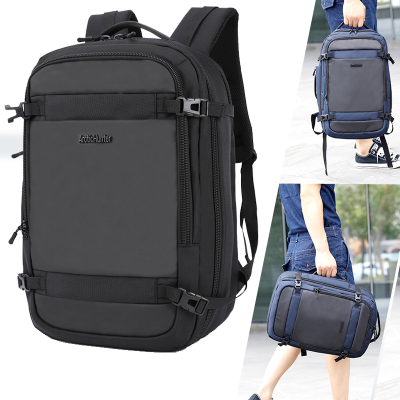 Men Swiss Swissgea Business Casual Travel Backpack Multi-Function High-Capacity Oxford 15.6inch Laptop Backpack Man Travel Bag 40l 50l travel backpack men military oxford travel backpack multi function 17 inch laptop camouflage travel bag backpack for men