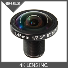 4K LENS 1.45MM Lens 190D 12MP IR for GoPro Ribcage 360 VR Camera 2016 Hot Coming