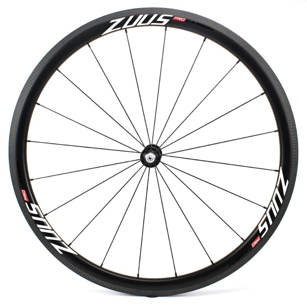ZUUS-Pro Series 700C Road Bike Carbon Fiber Wheel  30/38/47/50/60/88mm Tubeless Bicycle Rim Zuus-PRO HUB For Racing