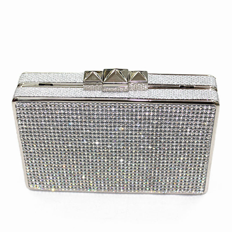 Popular Evening Silver Bag Clutch with Shiny-Buy Cheap Evening ...