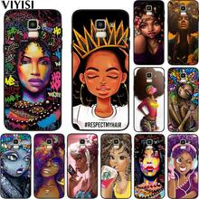 Phone Case For Samsung Galaxy S10 African Beauty Girl samsung s8 S7 S9 S6 J7 J4 J6 J8 Plus Etui Coque Funda Soft Silicone