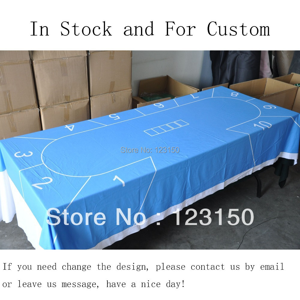 WP-014  Professional Water Resistant Poker Table Cloth, Stock for Promotion   Free Shipping wp 018 professional water resistant poker table cloth stock for promotion free shipping
