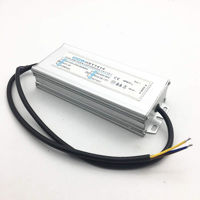High Quality AC 110~270V Street Lamp & Flood Light Power Supply 200w IP67 Waterproof 4.2A LED Driver DC 40~50V Output 182w led driver dc54v 3 9a high power led driver for flood light street light ip65 constant current drive power supply