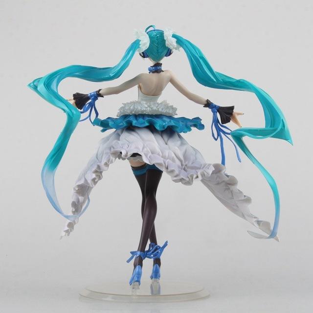 23cm Hatsune Miku Anime Collectible Action Figure PVC toys for christmas gift with retail box free shippnig