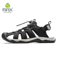 Rax Men Hiking Shoes Breathable Men Women Sandals Outdoor Trekking Shoes Mesh Aqua Sport Sandals Sneaker Men Hiking Sandals