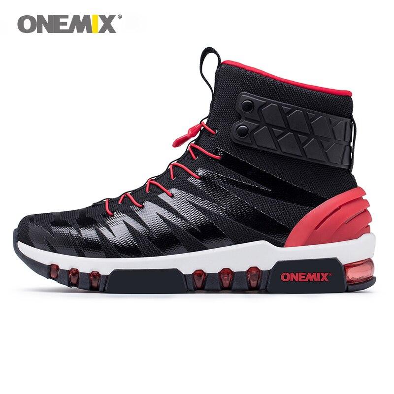 ONEMIX hommes bottines pour femmes entière paume Air casual extérieur 97 Trekking Sport Fitness baskets Max 12
