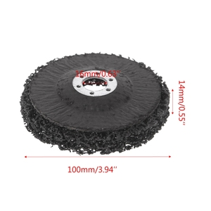 Image 5 - Poly Strip Disc Wheel Paint Rust Removal Clean Remove For Angle Grinder 100x16mm