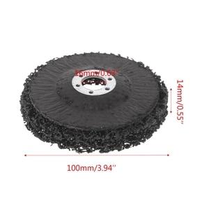 Image 5 - Poly Strip Disc Wiel Verf Roest Removal Clean Verwijderen Voor Haakse Slijper 100x16mm