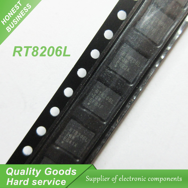 10pcs free shipping RT8206L RT8206LGQW QFN Laptop Chips 100% New original  quality assurance