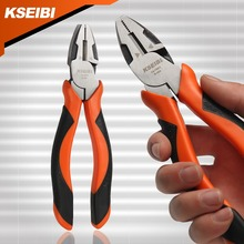 KSEIBI 141063 Industrial Combination Pliers 200mm (8Inch) W/ Wire Cutter