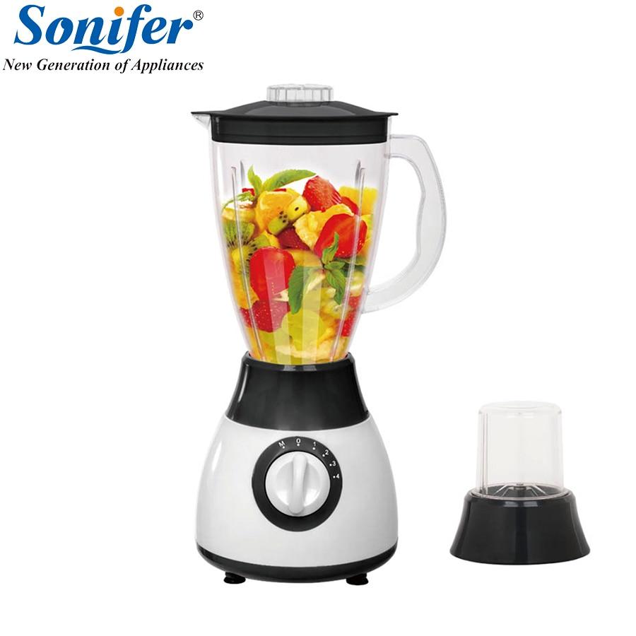 Colorful Multifunction electric food blender mixer kitchen 4 speeds standing blender vegetable food blender processor Duty Comme