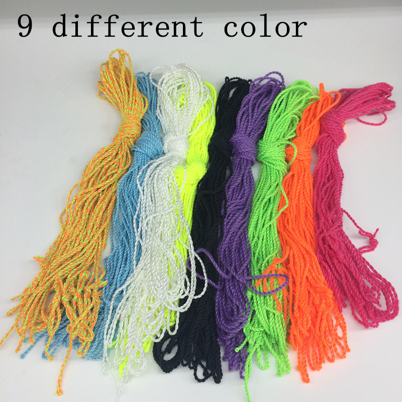 Delicious Free Shipping New Arrive 10 Pcs/set Yoyo Strings Professional Yoyo Ropes Toys Nylon Yo-yo 9 Colors Children Gifts Classic Toys
