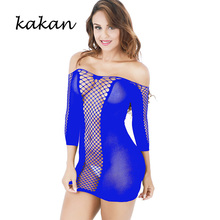 Kakan sexy club party dress Europe and the new mesh Slim short