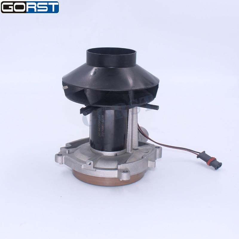 Blower Motor For Parking Heater 2KW 12V 24V Big Leaf Assembly Combustion Air Fan For Eberspacher