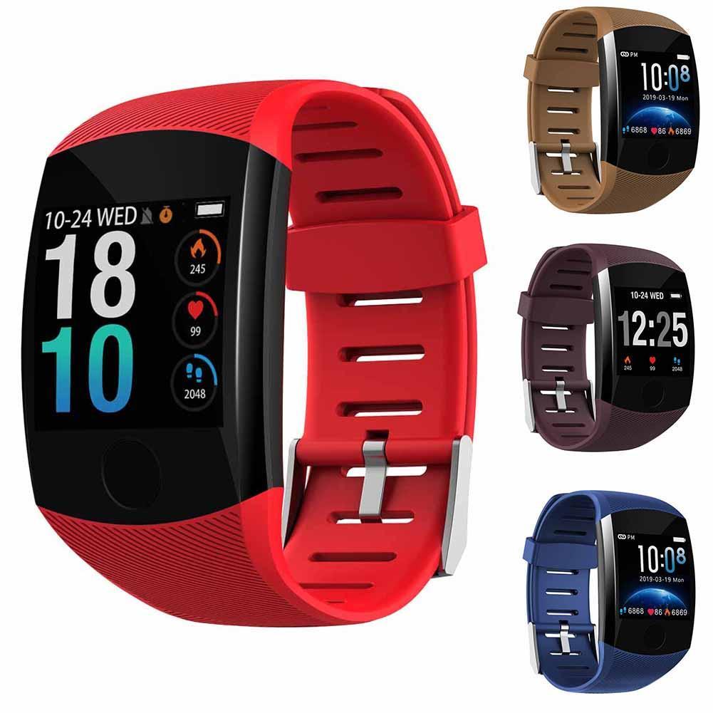 Great Waterproof TFT Screen Heart Rate Monitor Pedometer Sports Smart Watch Bracelet