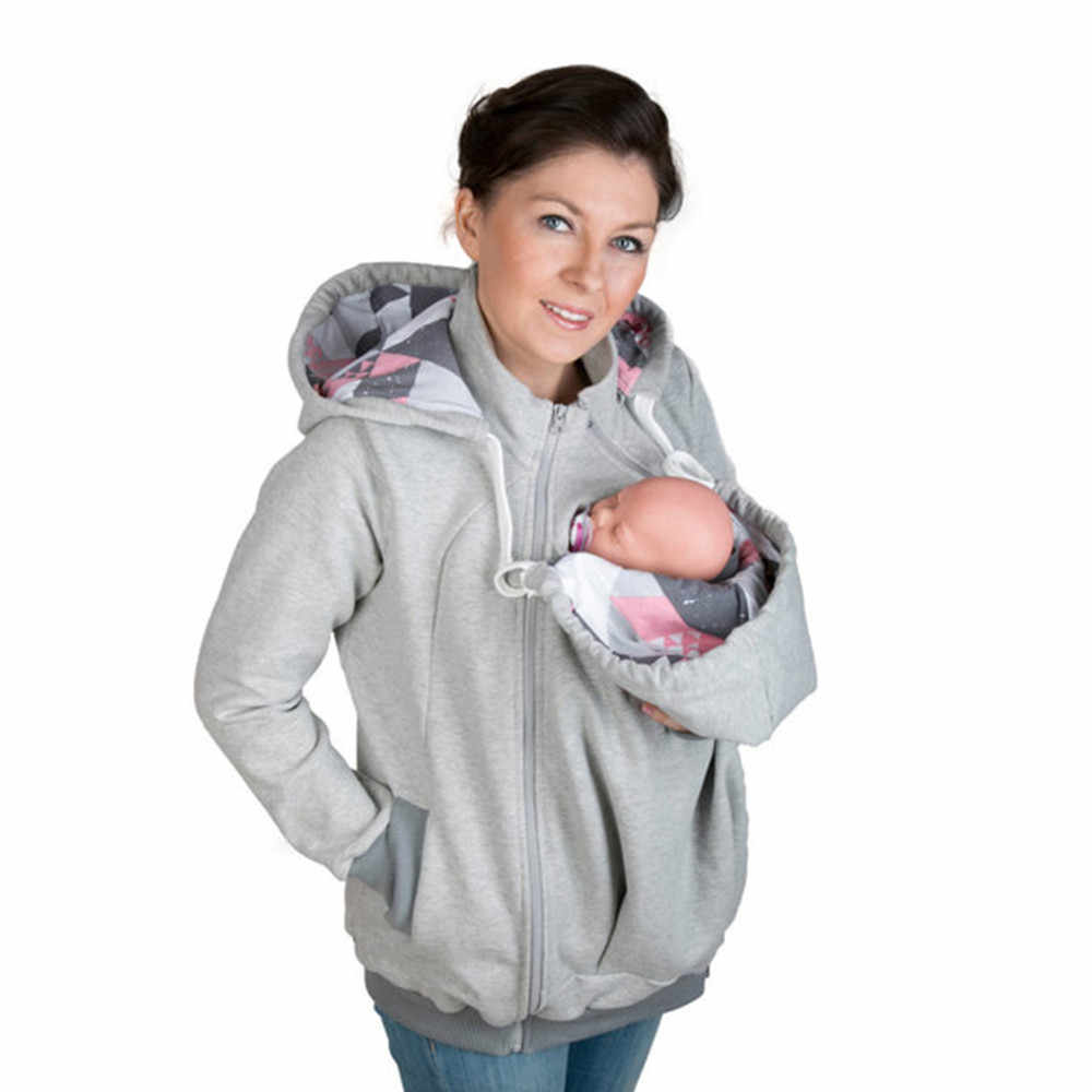 c2a978d868be5 Detail Feedback Questions about Brand New Fashion Baby Carrier Jacket  Kangaroo Hoodies Winter Warm Outwear Maternity Hooded Pregnancy clothing  Size S 2XL on ...