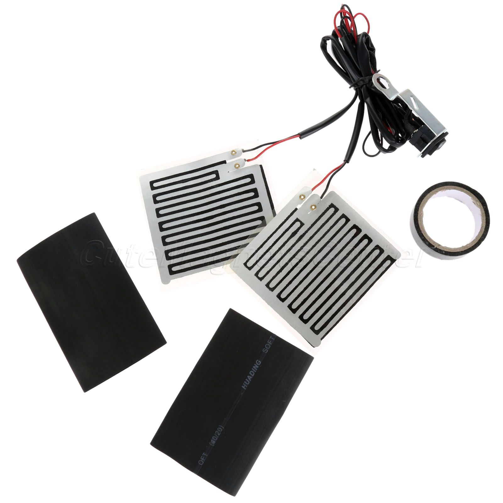 12v Handlebar Grip Heater Part Hand Warmer Kit Snowmobile Motorcycle ATV Bike for Electro Mobile Scooters Walking Tractor
