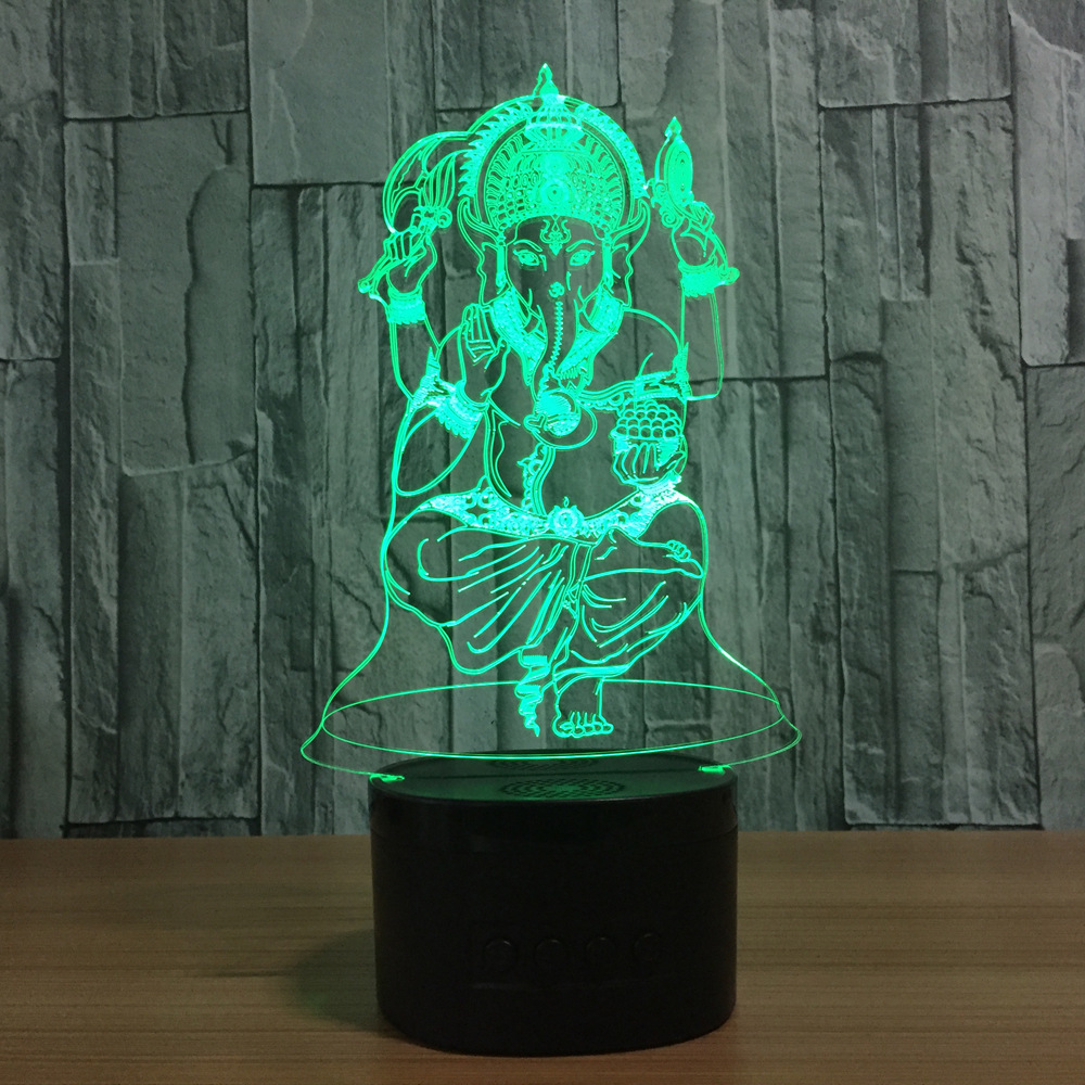 Naruto Anime 3d Night Light Creative Electric Illusion 3d Table Lamp Led 7 Color Changing Usb Touch Desk Lamp For Kids Gift Attractive Appearance Led Lamps Led Table Lamps