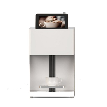 New Design edible food cake bread chocolate coffee 3D printer with white color